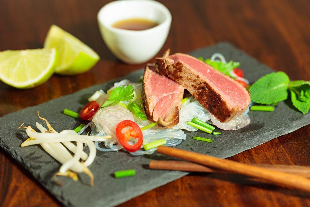 Glasnudel-Rindfleisch-Salat