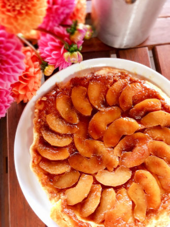 Tartin mit Äpfeln